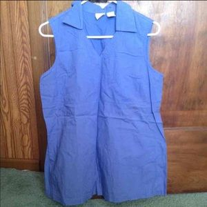 Woman's medium maternity top shirt sleeveless