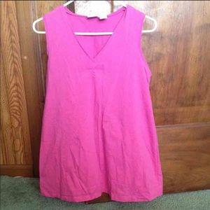 Tops - Woman's maternity medium top shirt sleeveless pink