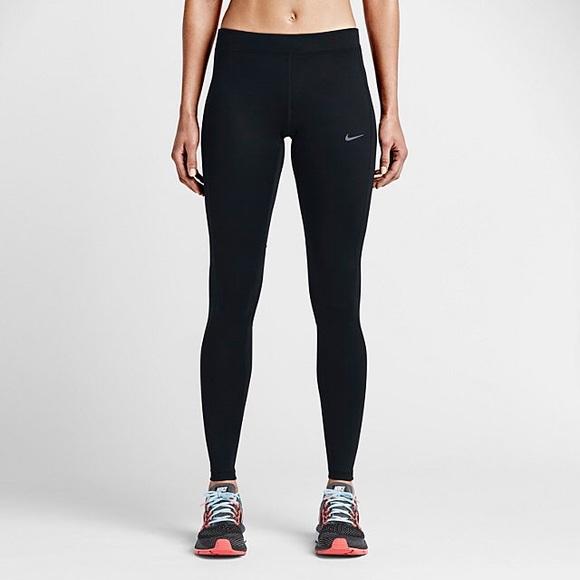 48% off Nike Pants - Nike Dri-fit Running Tights from Mollyu0026#39;s closet on Poshmark