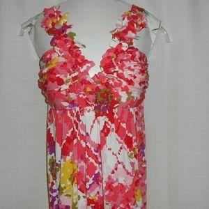 Muse Dress sleeveless low-cut v-neck Size 2