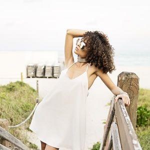 Style Link Miami Dresses & Skirts - ▫️LAST 1▫️WHITE SLIP MINI DRESS