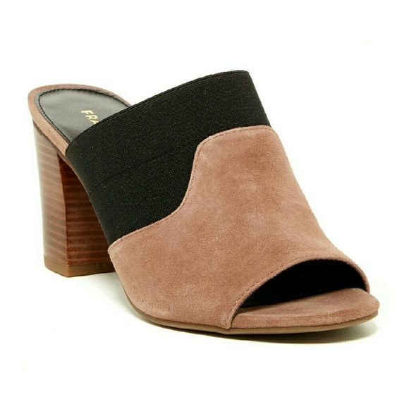 ef4d84e3392ca *PARTY SALE* Franco Sarto Gazelle Slip-On Sandals NWT