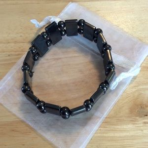 Jewelry - HEMATITE HEALTH STRETCH BRACELET OR ANKLET