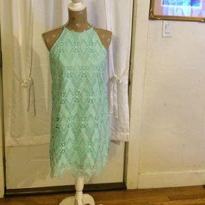 Xhilaration Dresses & Skirts - Beautiful lime lace dress