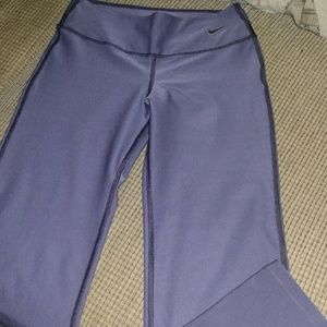 Nike Pants - Nike; Lady's Fitted DRI-FIT Pants
