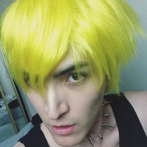 Hot Topic Accessories - 🆕Neon Yellow Ultra Bright Wig Short Hair Cosplay