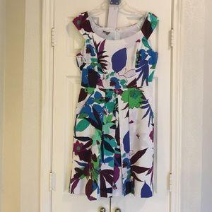 Size 12 multi color dress
