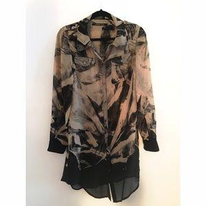 Gorgeous silk tunic dress