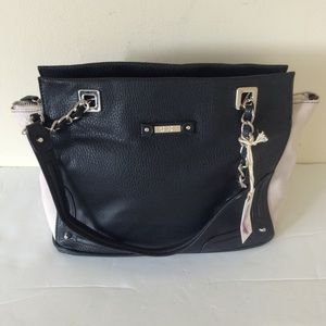 Jessica Simpson Eileen Black/Cream Bag