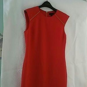Ted baker tangerine dress size 3