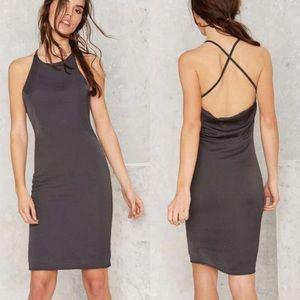 Nasty Gal Dresses & Skirts - Nasty Gal Cowl Back Dress
