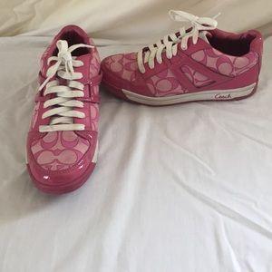 Coach Shoes   Pink Coach Tennis Shoes
