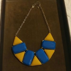 Jewelry - Yellow and Blue statement necklace