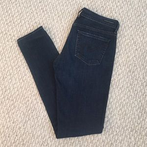 Citizens of Humanity Denim - Dark Wash Skinny Jeans