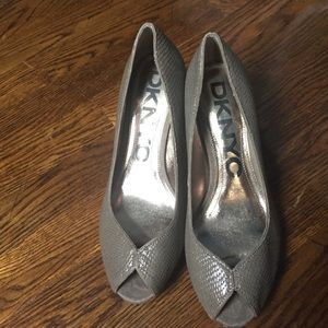 DKNY peep toes