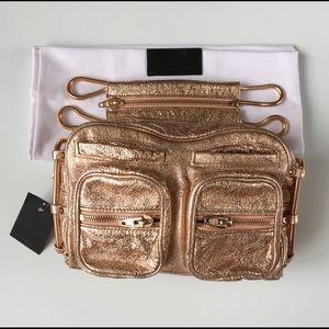 HOST PICKAlexander Wang BRENDA metallic bag