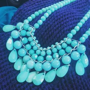 Accessories - Turquoise bubble necklace