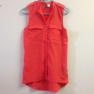 Red H&M shirt