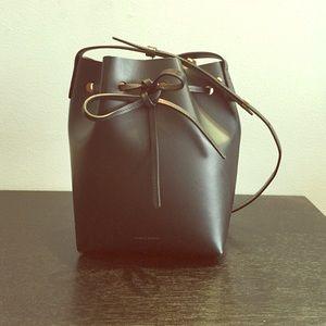 Mansur Gavriel Handbags - Mansur Gavriel black mini bucket