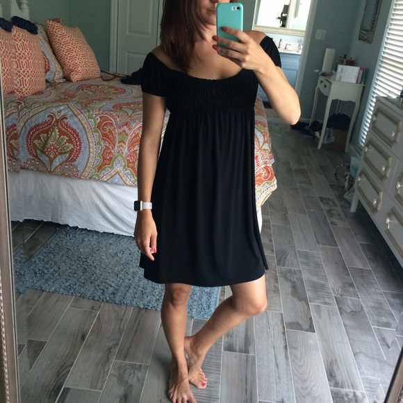 Muse Dresses & Skirts - Over the shoulder LBD