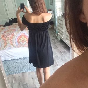 Muse Dresses - Over the shoulder LBD