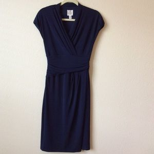 Suzy Chin Dresses & Skirts - Suzy Chin for Maggy Boutique.  Navy Dress. Size 6