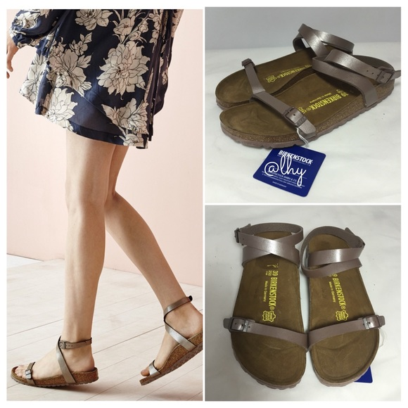 b20edd572149 Birkenstock Shoes - 🆕BIRKENSTOCK DALOA ANKLE STRAP SANDAL - 39