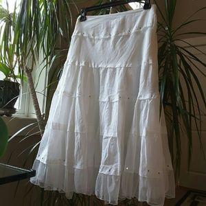 American Exchange  Dresses & Skirts - American Exchange Tiered Midi Skirt Size 5 Juniors