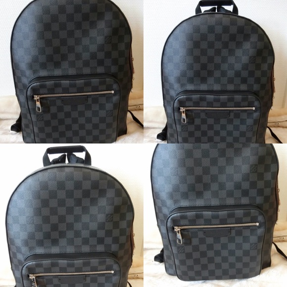 ️NWT Louis Vuitton Josh Backpack Da.Graphite 4f412f97e1e44