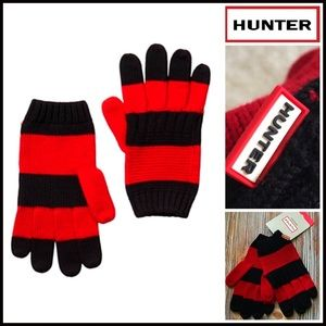 Hunter Boots Accessories - ❗1-HOUR SALE❗HUNTER ORIGINAL GLOVES 100% Fine Wool