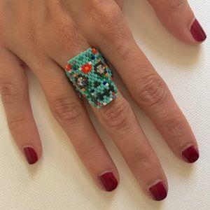 La New Yorkilla Jewelry - Amazing Hand Made Calavera/Skull Candy Ring