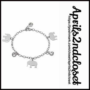 ❗️1-HOUR SALE❗️Swarovski Crystal Bracelet Elephant