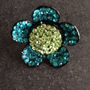 Jewelry - Adjustable Floral Fashion Ring