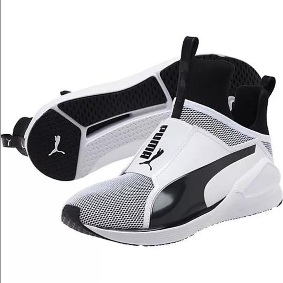 fd2cf1ab81 Puma Shoes   New Kylie Fierce White Black   Poshmark