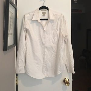 Woman's white button up