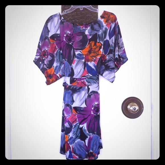 BCBGMaxAzria Dresses & Skirts - BCBG kimono dress