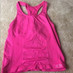 Tops - Hot pink work out top💓