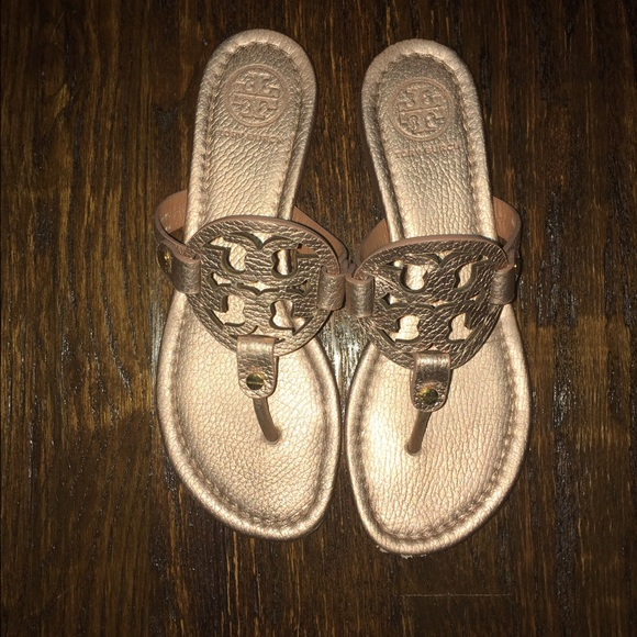 d4526ed39c7a Rose Gold Tory Burch Miller Sandal. M 575357aa9818292801044b76. Other Shoes  you may like