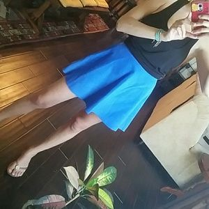 American apparel suede circle skirt NWT!