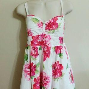 Designer skin other adore bronzer poshmark white dress with pink flowers mightylinksfo