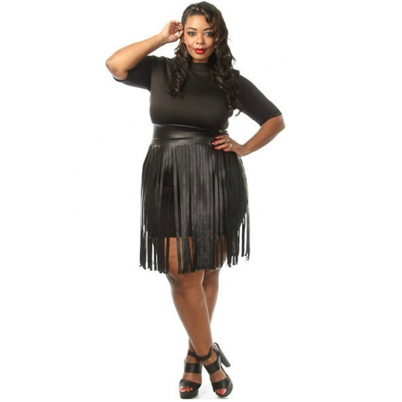 15% off Head2Toez Apparel Dresses & Skirts - NWT Plus Size Faux ...