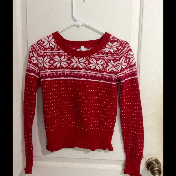 aeropostale knit christmas sweater