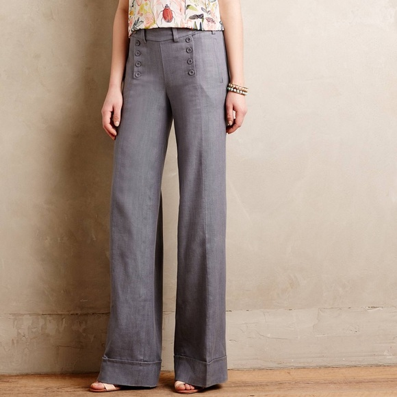 72% off Anthropologie Pants - Anthropologie Elevenses Wide Leg
