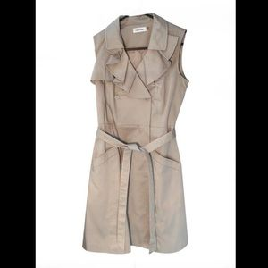 Calvin Klein Dresses - Calvin Klein Khaki wrap dress