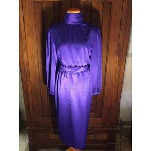 Vintage 80's Royal Dress
