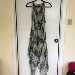Robert Rodriguez printed silk maxi dress
