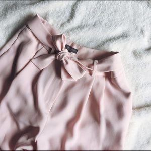 Vince Camuto Pants - Vince Camuto Pink Culottes