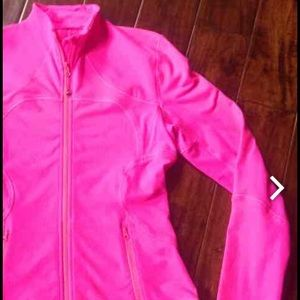 FLASH Hot pink Lululemon jacket SZ 8
