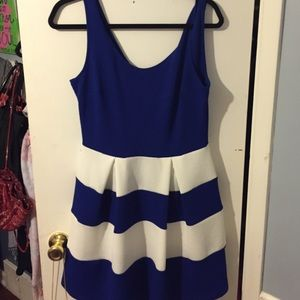 Soprano Dresses & Skirts - Nordstrom Soprano Blue/White Sundress