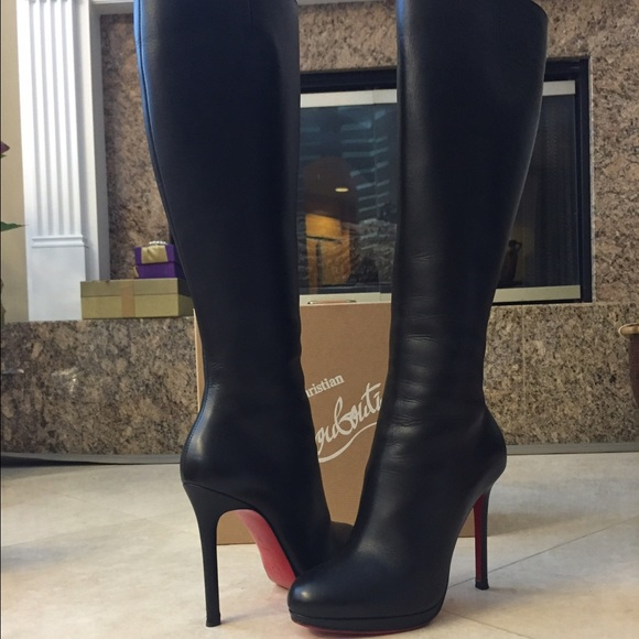 check out 9575a 1a8e5 Christian Louboutin Botalili Knee High Boot